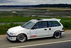 EF Civic Hatchback in period correct Kajo Racer inspired performance, aerodynamics, and pure style,