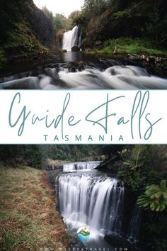 This contains: GUIDE FALLS TASMANIA Tasmania, Need To Know, Waterfall, Photography, Budget Travel, Outdoor, Travel Destinations, Outdoors, Road Trip Destinations