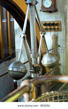 steam beam engine Stock Photo