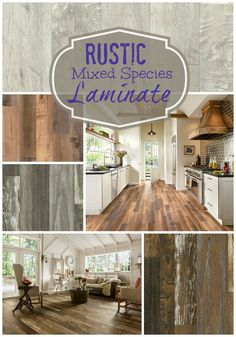 Aren't rustic mixed species looks great? You can only get them with laminate.