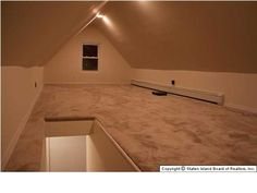 a finished attic & CG Woodwork. Finish attic built-ins. | Ideas for the House ...