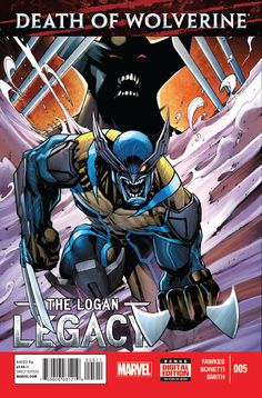DEATH OF WOLVERINE: LOGAN LEGACY (Series Began Issue comics in Fine condition. Published by Marvel. Fine - An exceptional, above-average copy that shows minor wear but is still relatively flat and clean with slight creasing or minor defects. Death Of Wolverine, Wolverine Art, Logan Wolverine, Logan Xmen, Hq Marvel, Marvel Dc Comics, Anime Comics, Cosmic Comics, Comic Book Covers