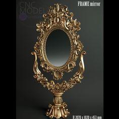 3d Printing, Frames, Mirror, Design, Home Decor, Impression 3d, Decoration Home, Room Decor, Frame