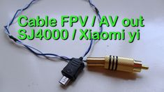 DIY Cable FPV / AV out para SJ4000 o Xiaomi yi Gopro, Cable, Action, Youtube, Diy, Cabo, Group Action, Bricolage, Do It Yourself