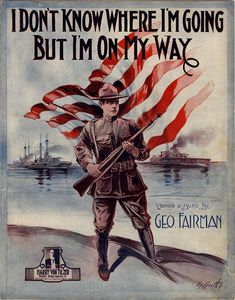 I don't know where I'm going but I'm on my way (a9259) - Historic American Sheet Music - Duke Libraries