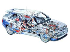 Ford Escort RS Cosworth WRC