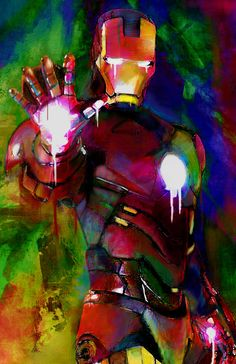 Ironman art https://www.etsy.com/listing/175431616/new-iron-man-canvas-art-16-x-24-x-1-12
