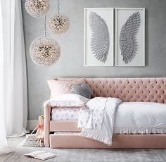 >>>Cheap Sale OFF! >>>Visit>> Tweens are full of new ideas and independence. Find the perfect grown up fashionable adorable style and decor for your perfect tween girl bedroom! Bedroom Decor For Teen Girls, Teen Girl Bedrooms, Bedroom Ideas For Tweens, Pink Bedrooms, Daybed Room, Daybed Bedding, Bedding Sets, Bedroom Sofa, Sofa Bed