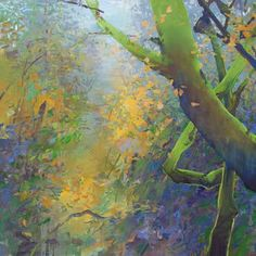 Before Christmas I had become stuck in a large forest painting. It was hard to concentrate and nothing made it spark. So I set it aside a...