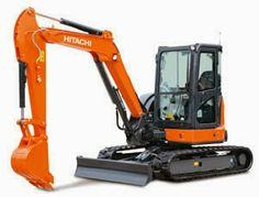 Hitachi ZX65USB-5A  the gap between Hitachi's mini excavators and mid-sized excavators #readystock