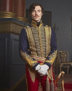 Prince Albert, played by Tom Hughes  (pictured) - of whom we will see much more this weekend on Victoria - is young and good looking, but he is also spoilt, boorish and arrogant