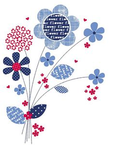 All about surface pattern ,textiles and graphics: Summer Blues