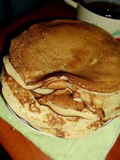 Clatite de post My Favorite Food, Favorite Recipes, Vegan Cake, Gem, Pancakes, Breakfast, Porn, Sweets, Morning Coffee