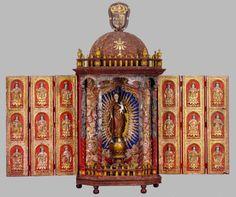 Altarolo, Goa, XVII secolo. évora, Museu de Evora