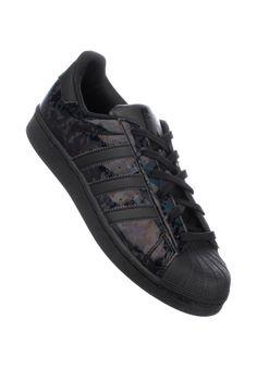 adidas Superstar-W, Shoe-Women, black-white Titus Titus Skateshop #ShoeWomen #ShoesFemale #titus #titusskateshop