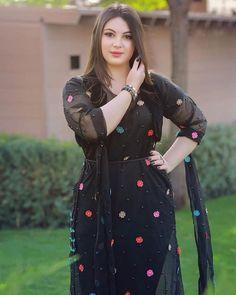 Plus size Cropped Ruffled Shawl Shrug Bolero Black Beautiful Muslim Women, Beautiful Girl Image, Beautiful Ladies, Simply Beautiful, Stylish Dresses, Casual Dresses, Winter Dresses, Summer Dresses, Stylish Girl Pic