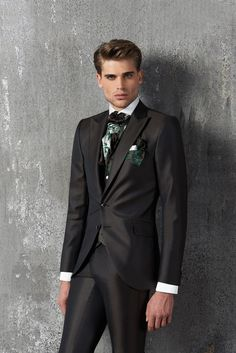 #CleofeFinati by Archetipo 2015 Men's Collection - Suit Mod. 15.1225 b01 - fabric 1309/31