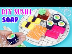 How to Make DIY Sushi Soap! - YouTube