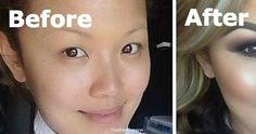Stunning Makeup Contouring Before And After