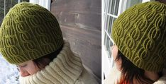 a3939576a90 stunning Lina knitted cabled beanie