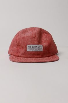 be5a8781f14 red whisper 5 panel hat