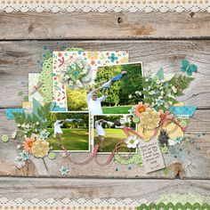 flying - using template from La Belle Vie Design and collab kit Bekah Boo from Charm Box Studios and Sunrise Studios