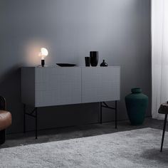 Swedish Superfront Launches ASAP Collection with Ready-Made Solutions to Customize IKEA Cabinets - Nordic Design Living Room Update, Small Living Rooms, Sideboard Cabinet, Sideboard Ideas, Folding Walls, Ikea Frames, Ikea Cabinets, Nordic Design, Scandinavian Home