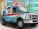 Abulansla hızlı bir şekilde diğer hastaneye gidiyor sevk edilecek hastayı alıp hemen geldiğimiz hastaneye hızlı ve dikkatli şekilde son hızda gidiyoruz http://www.arabayarisoyunlari.net.tr/ambulans-sur.html