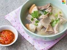 My family's recipe for Chinese-style pig stomach soup, a favourite during Chinese New Year.
