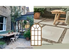 How To Create A Stylish Garden With Outdoor Tiles | Topps Tiles Outdoor Tiles, Outdoor Decor, Outside Flooring, Garden Tiles, Topps Tiles, Hanging Plants, Greenery, Outdoor Furniture Sets, Outdoors