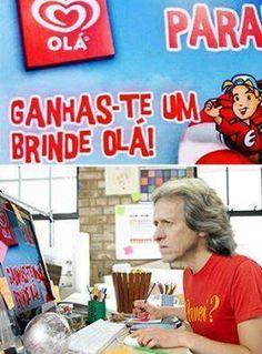 """""""A Padrada do Dia"""" Descobrims o Dsign da #Olá! #JorgeJesus"""
