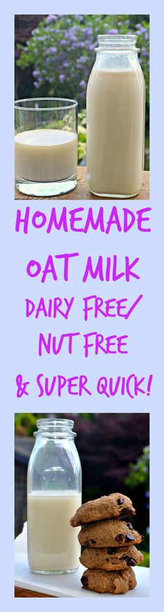 Make your own non-dairy oat milk in less than 20 minutes.