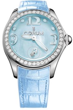 @corumwatches Bubble Mother of Pearl Ladies Blue Diamond #add-content #basel-16 #bezel-diamond #bracelet-strap-alligator #brand-corum #case-depth-16-5mm #case-material-steel #case-width-42mm #delivery-timescale-1-2-weeks #dial-colour-blue #gender-ladies #luxury #movement-automatic #new-product-yes #official-stockist-for-corum-watches #packaging-corum-watch-packaging #style-dress #subcat-bubble #supplier-model-no-l295-03050 #warranty-corum-official-3-year-guarantee #water-resistant-100m