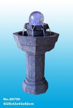 Big Water Fountain, Garden Water Fountain, Yard Water Fountain