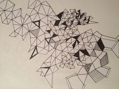 Geometric line drawing