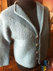 Ravelry: Adult Modular Cardigan Jacket pattern by Loraine Birchall