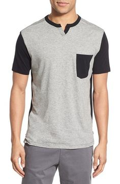 Good Man Brand Colorblock Notch T-Shirt