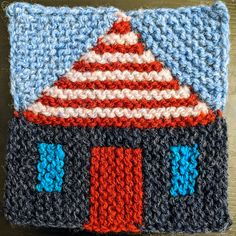 Ravelry: Project Gallery for Safe at Home blanket pattern by Margaret Holzmann Knitted Afghans, Afghan Crochet Patterns, Knitted Blankets, Knitting Patterns, Baby Afghans, Blanket Patterns, Easy Patterns, Knitted Baby, Knitted Dolls