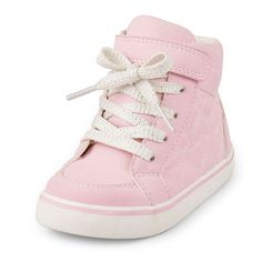 The Childrens Place - These hi-top sneakers will steal her heart!