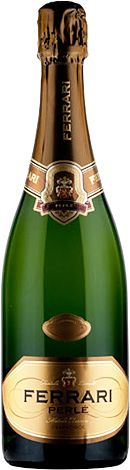 """Northern Italy's Ferrari Perlé 2007 earned worldwide recognition as one of the finest Italian sparkling wines made in the same method as Champagne. The estate-grown Ferrari Perlé is made of 100% Chardonnay grapes and the 2007 vintage, newly available for holiday, has just been named the best sparkling wine in the world outside of the Champagne region in the """"Champagne and Sparkling Wine World Championships."""" $38."""