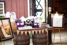 Country Wedding Display