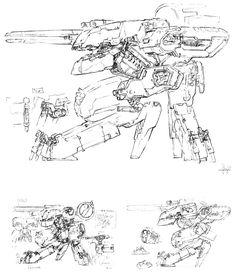Rex Sketch, Metal Gear Solid 1