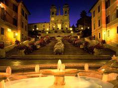 Image Detail for - Rome Italy picture, Trinita dei Monti Church Spanish Steps Rome Italy ...