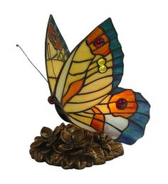 Shop Fine Art Lighting Ltd. Tiffany Butterfly Night Light at Lowe's Canada. Find our selection of night lights at the lowest price guaranteed with price match. Natural Night Lights, Led Night Light, Butterfly Lamp, Butterflies, Fine Art Lighting, Decorative Night Lights, Tiffany Stained Glass, Stained Glass Night Lights, Tiffany Lamps