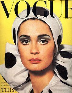 Vogue-Magazine-Cover-Vintage-Polka-Dots