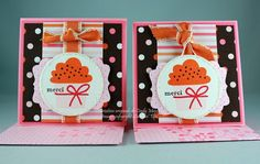 3x3 Thank You Notes by cindy_canada - Cards and Paper Crafts at Splitcoaststampers