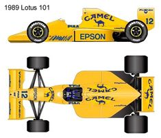 1989 Lotus 101 formula 1 Lotus, Sport Cars, F1, Sports, Cars, Drawings, Hs Sports, Lotus Flower, Power Cars