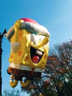 SpongeBob SquarePants at the 2015 Macy's Thanksgiving Day Parade