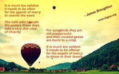 Agents of Merry, #poem by #JamesBroughton  www.bigjoy.org