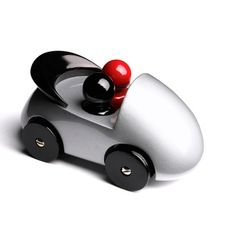 Fab.com | Streamliner Cab Silver Playsam car #toys # kids